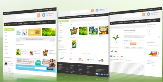 eCommerce Application-Tea