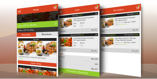 Food Delivery App for iPhone and Android