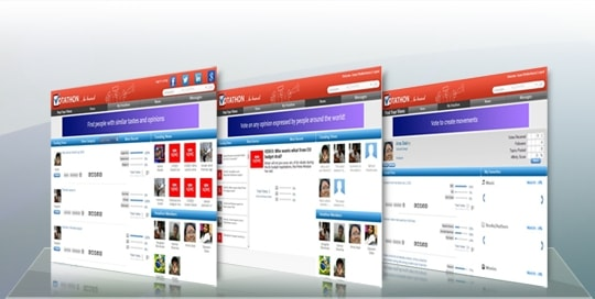 Online Voting Website: Voting Social Network - Enterprise